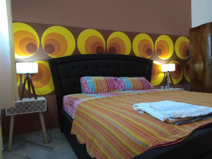 Retro LUX Double Space Suite for 4 guests
