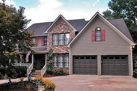Beautiful home nearLake Lanier,RV park & boat ramp - House