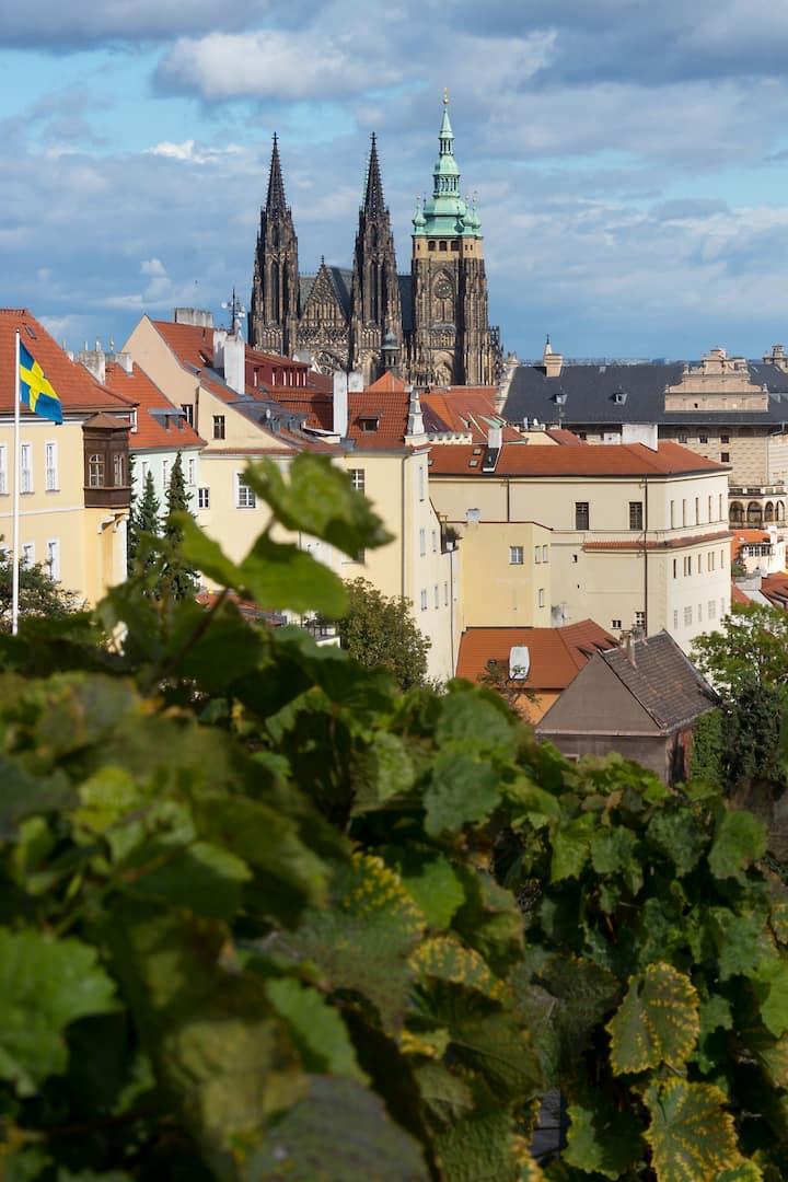 Die beste Panoramaradroute in Prag