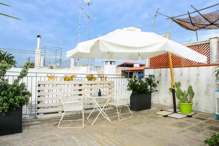 OTTOGRADONI - casetta con terrazza esclusiva