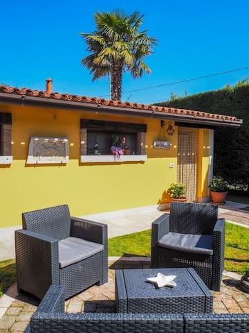 LA BRIGATA  APARTMENTS (yellow house)