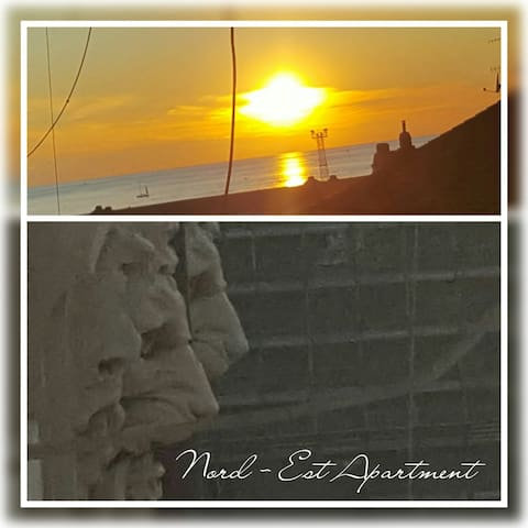 Romantic Nord-EST:central loft with sea glimpse - Trieste - Apartamento