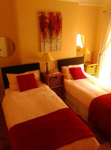 King or 2 singles ground floor room - Dublin - Haus