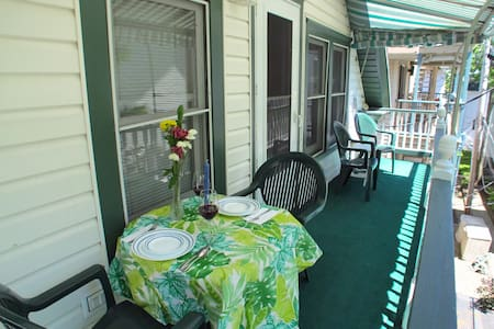 Close to Amp, 25 Waugh, Cathedral Ceilings, PORCH - Jamestown