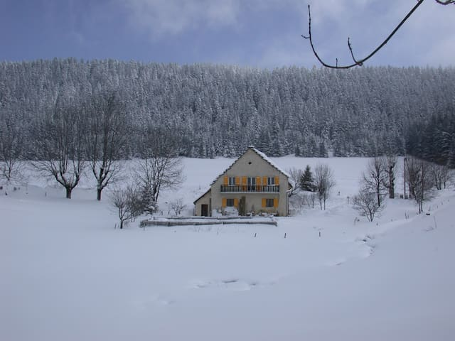 ferme ancienne du Vercors, calme - Villard-de-Lans - Huoneisto