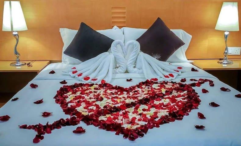 Boleh request untuk honeymoon pakej.