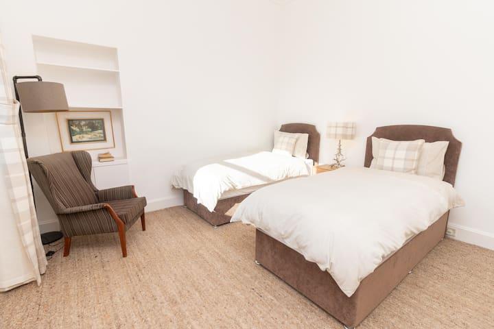 Single Beds in Bedroom 2