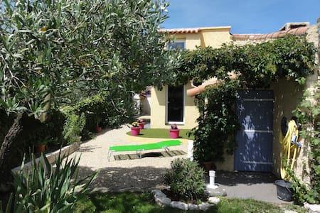 Maisonnette de charme avec piscine et paillote - Peypin - House