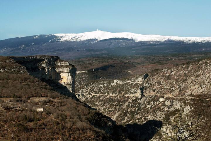 Gite the Nesque Gorges