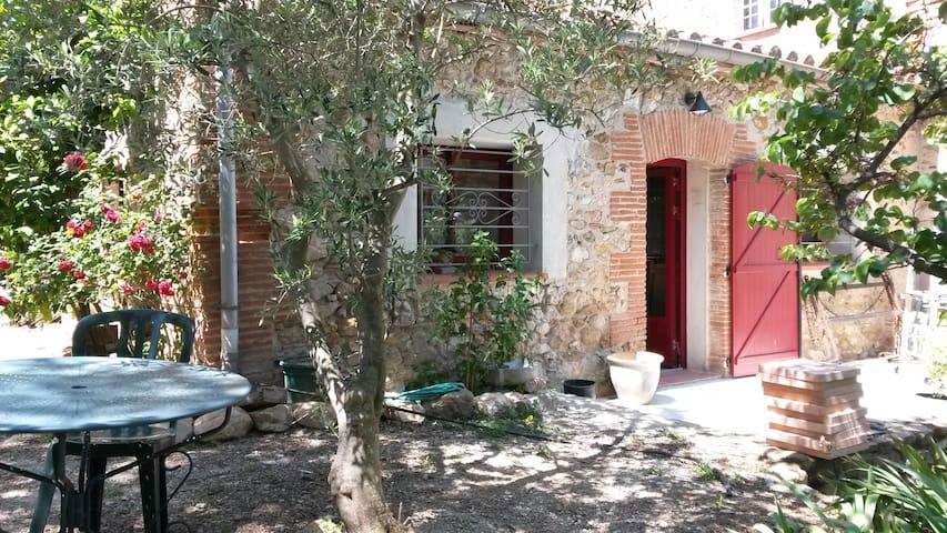 """Maison d'hôte """"La Cave Rouge"""" - Trouillas - House"""