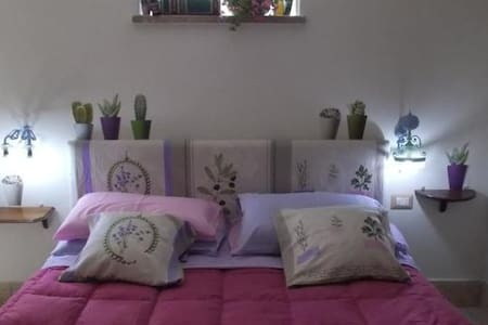 la stanza lilla del B.B. Dal Pozzo - Sorso - ที่พักพร้อมอาหารเช้า