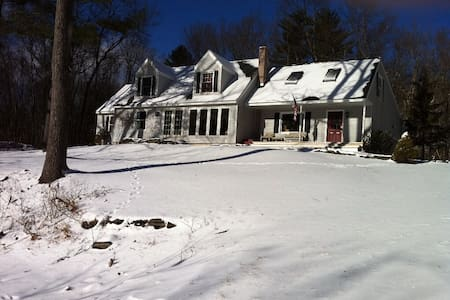 Pocono Home - hot tub, views skiing - Hawley