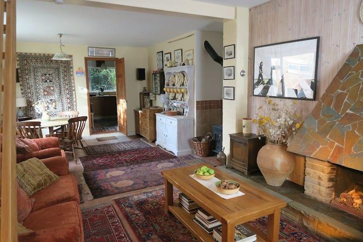Weavers Cottage a carbon neutral home.