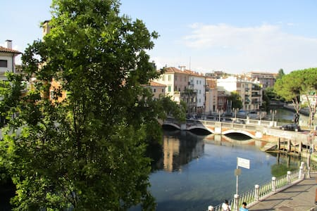 Comfort room for two, great view, 30 min to Venice - Treviso - Apartemen