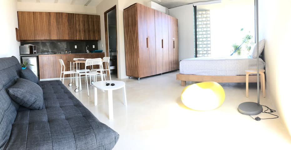 43 square meters studio with view to the Caribbean - Cancún - Apartament