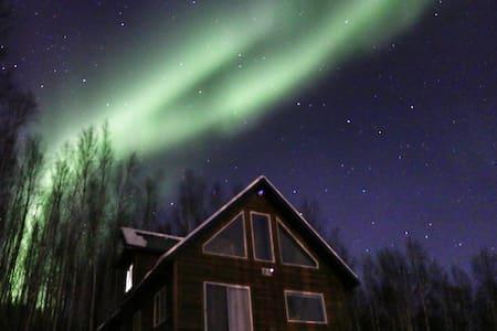 New House on Moose Mtn - Fairbanks - Talo