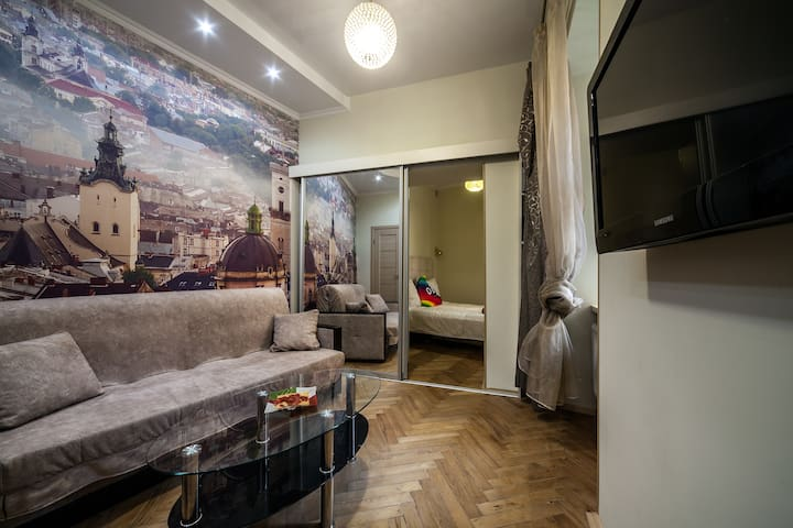 Cozy 1-bedroom apartment in the heart of Lviv