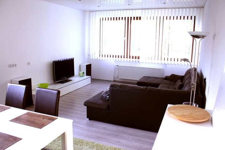 Wohnbereich im Studio