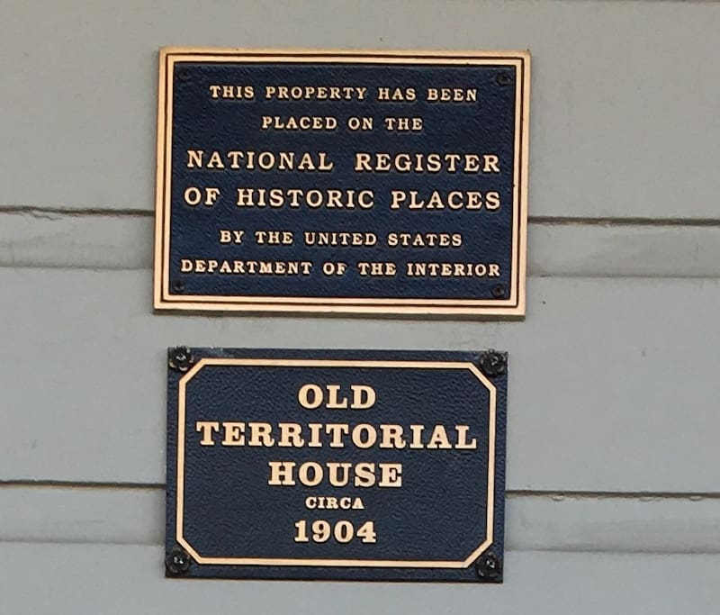 The famous Old Territorial House of Prescott.
