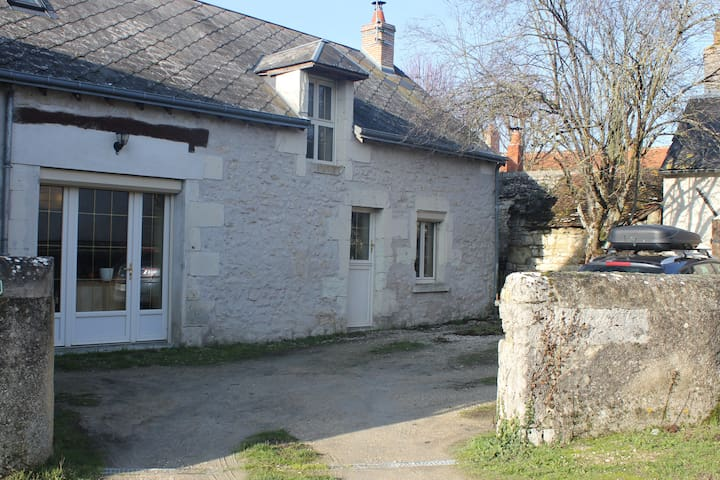 Maison avec jardin proche Beauval et châteaux.