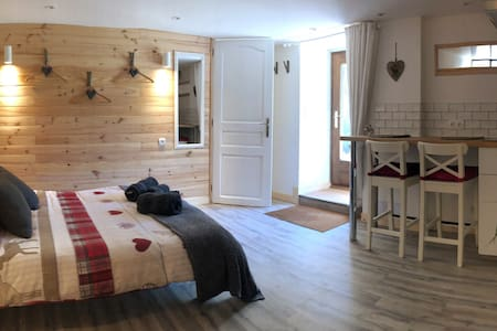 Apt. Sanglier - Charming Studio in the mountains.