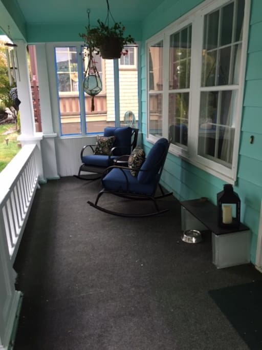 Relax on the porch!