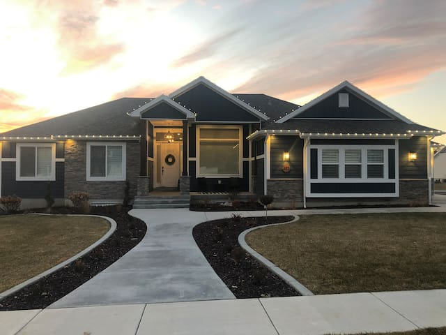 Brand New House in River Heights +Theater