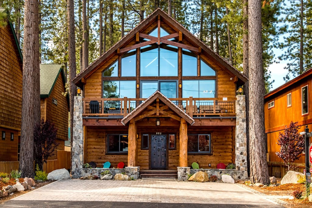 5br 4ba lake tahoe luxury rental houses for rent in for Rent a cabin in south lake tahoe