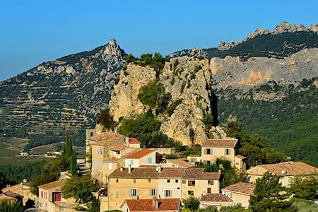 gite au coeur des Dentelles de Montmirail - La Roque-Alric - Doğa içinde pansiyon