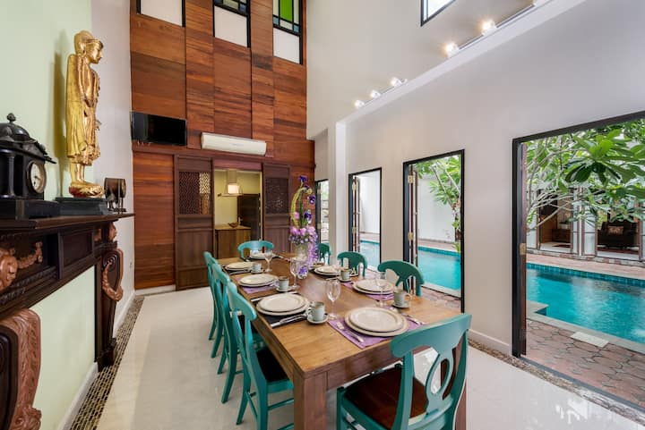 Modern Thai Villa+private pool + Airport transfer