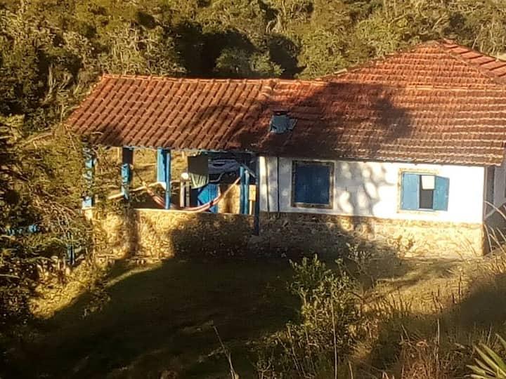 Casa em fazenda na serra da Bocaina