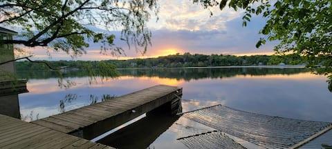 Autumn Lakefront Getaway