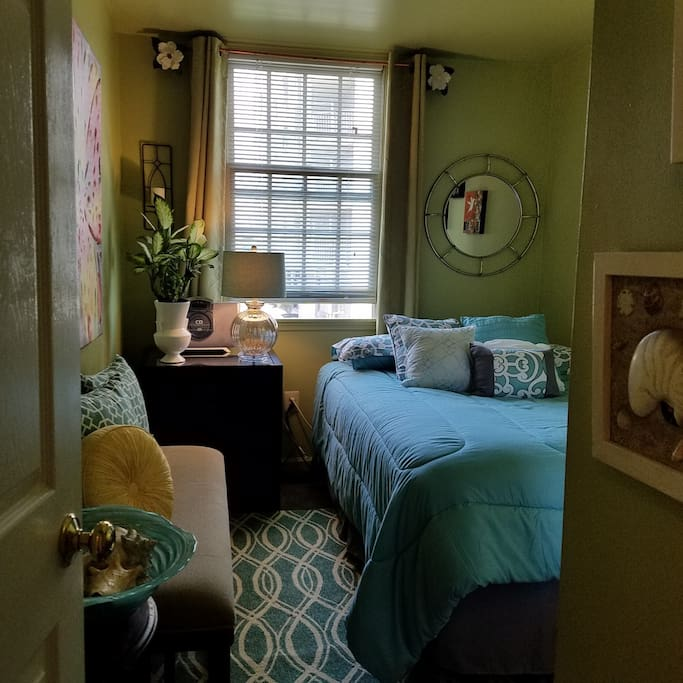 Guest Bedroom with full sized bed