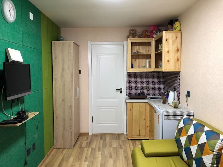 City center State Depart. Store entire 1 room apt