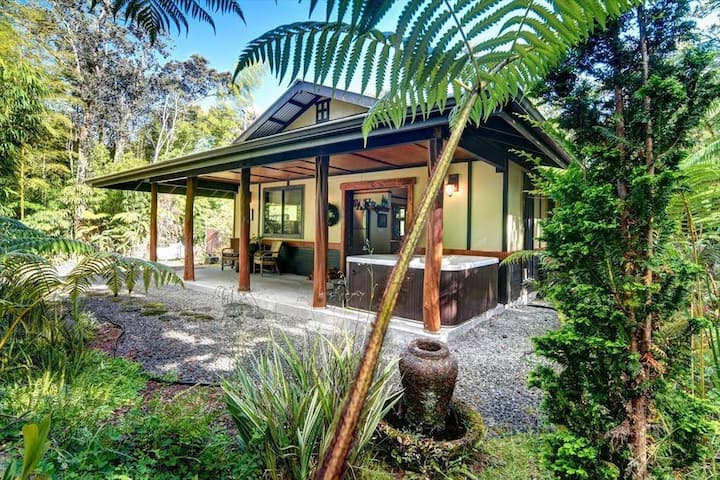 Volcano Teahouse Cottage
