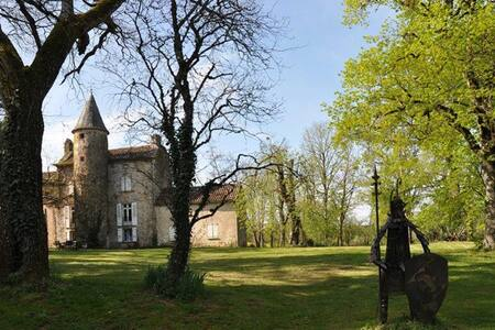 Domaine des Aliberts - Martiel - 城堡