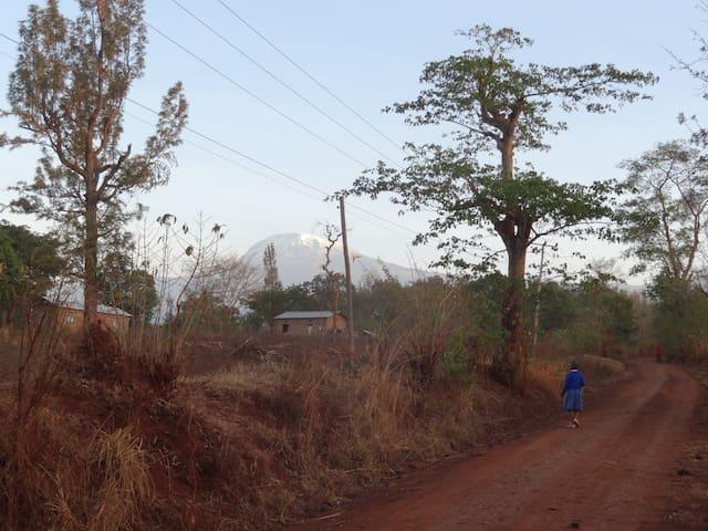 Tanzanian Home-rural area of Moshi, Kilimanjaro