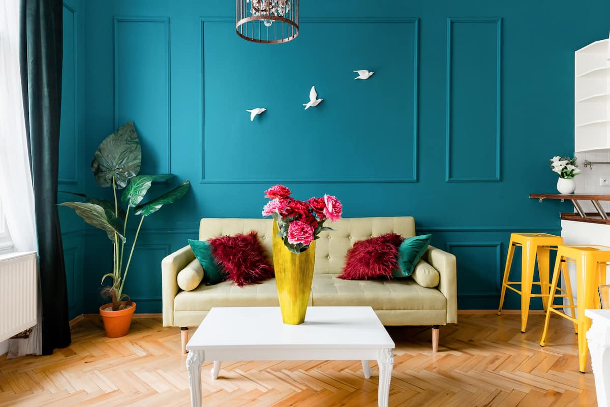Colorful and Quiet Wenceslas Square Apartment