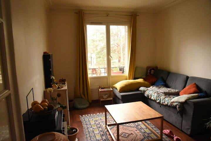 Appartement cosi pour un week end à Paris