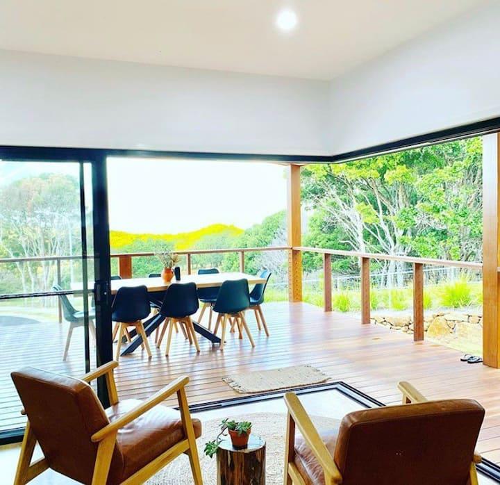 Stylish Modern House with Ocean & Farmland Views