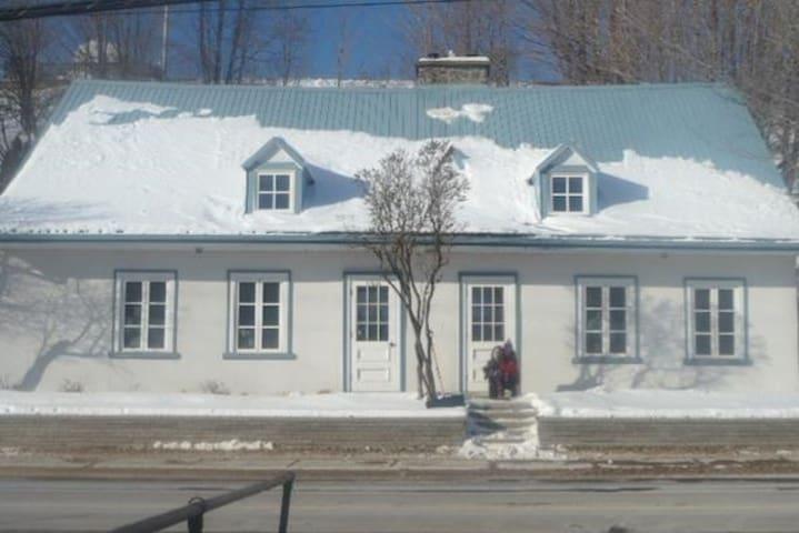 Maison du 18e siècle près du Mont Sainte-Anne - Beaupré