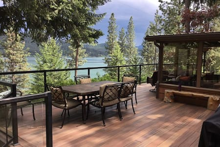 Coeur D' Alene Lake Cabin Summer Fun ~ Sleeps 8