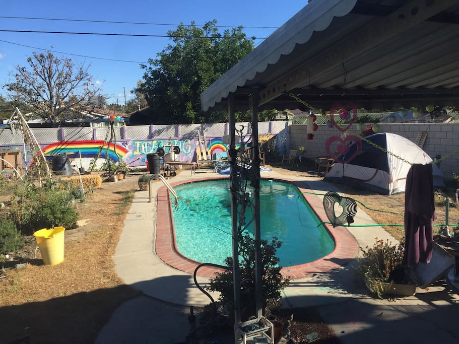 camp in the backyard healing house tents for rent in los angeles