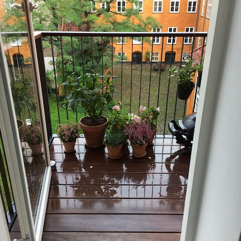 Balcony from the kitchen