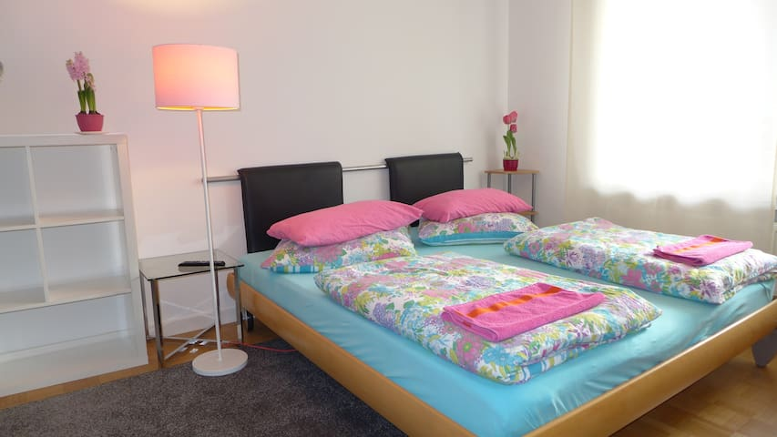 Ruhige zwei Zimmer+Bad+Südbalkon
