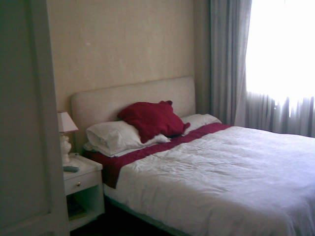 Finely furnished apartment, great location & sunny