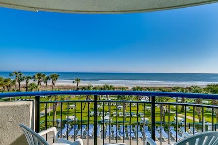 "#1 Upgraded Oceanfront Condo 55"" TV - Myrtle Beach - Departamento"