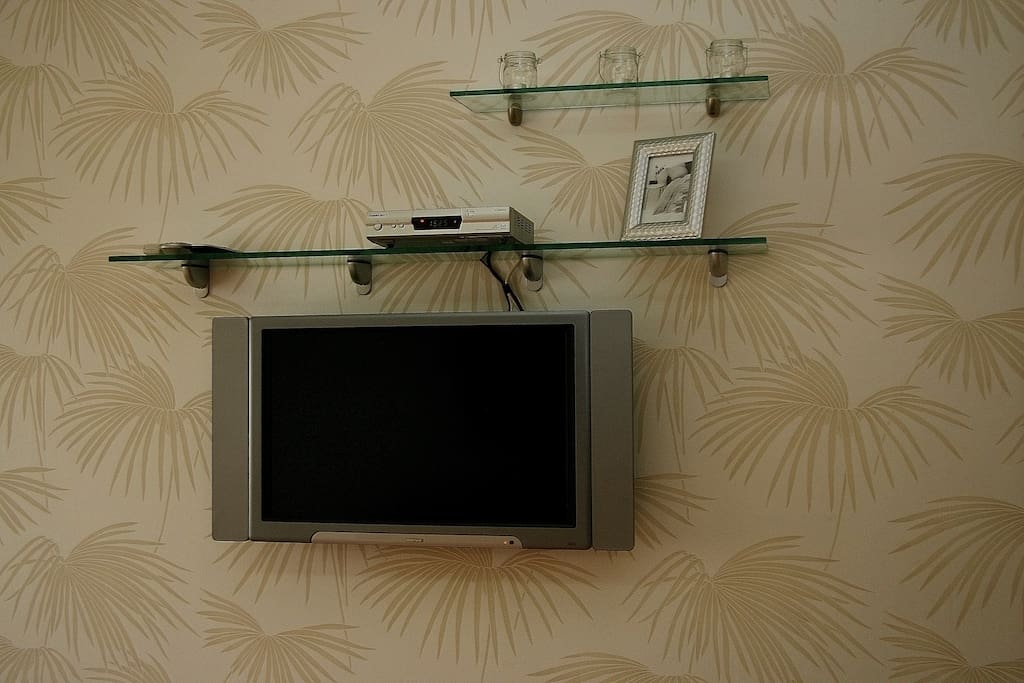 TV with multiple channels