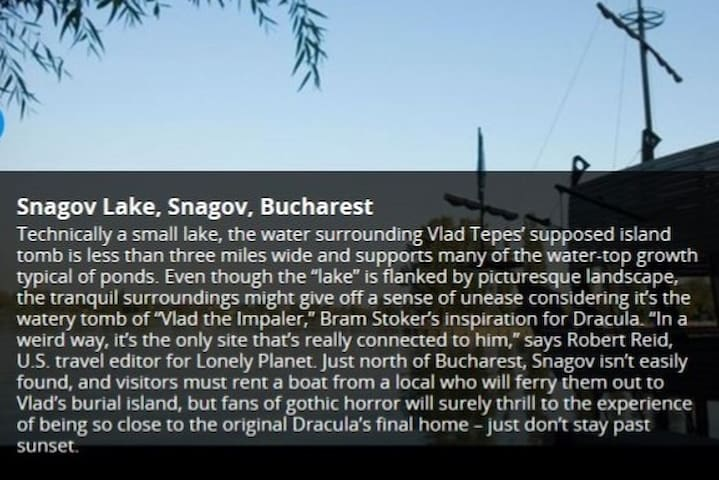 Your memories from Snagov Lake