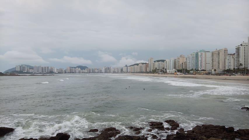 apartamento Praia de Pitangueras, Guaruja. Brasil